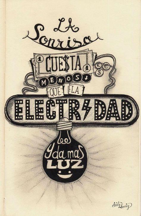 La sonrisa cuesta menos que la electricidad y da más luz -www.dirtyharry.es