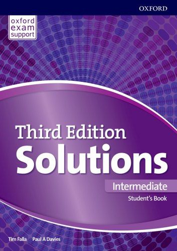Solutions 3rd Edition Intermediate Student S Book Oxford