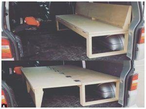 Bett Selber Bauen Camping Luxus T5 Bett Vw T5 Transporter Bett Van Bett Selber Bauen Bett Ideen Bett Selber Bauen Umgebaute Wohnmobile Truck Camper