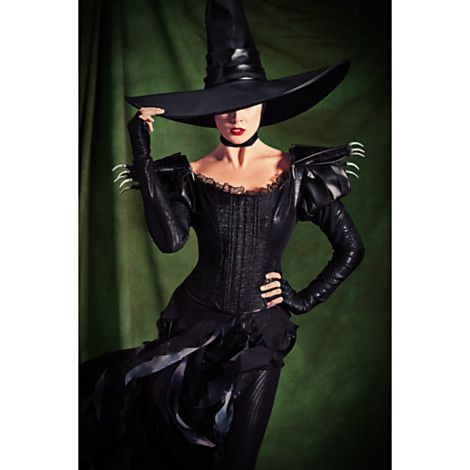 wicked witch of the west costume for adults oz limited edition pre order costumes costume accessories disney store