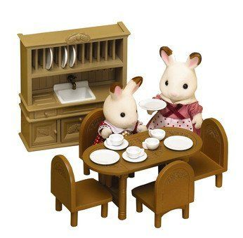 Sylvanian Treehouse Dining Room Furniture By Sylvanian Families