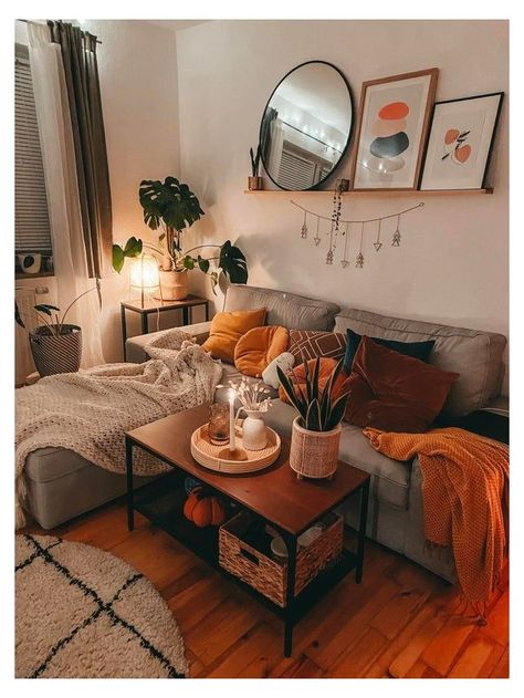 Living Room Inspo, Boho Living Room, Cozy Living Spaces, Living Room Sets, Room Set, Apartment Living Room, Cozy Living Room Warm, Living Room Warm, Room Decor