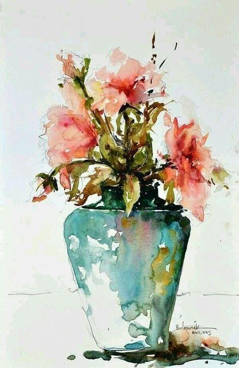Das Schonste Bild Fur Aquarell Blumen Anleitung Das Zu Ihrem