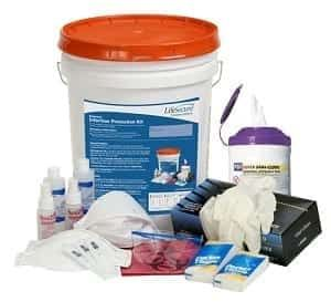 Extended Infection Protection Kit With N95 Masks Pandemic