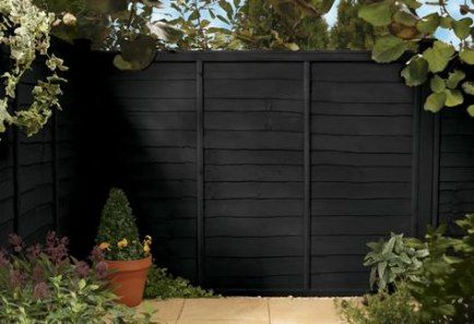 Garden Fence Black Colour 26 Ideas Garden Cuprinol Garden