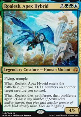 War of the Spark Apex Hybrid NM//M M MTG Magic - Roalesk
