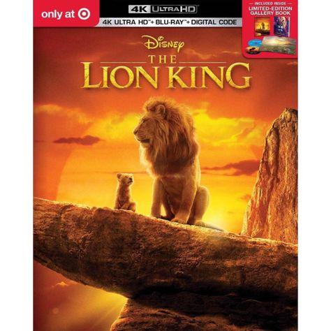 Disney's The Lion King 4K Ultra HD + Blu-Ray + Digital Code & Limited Edition Book