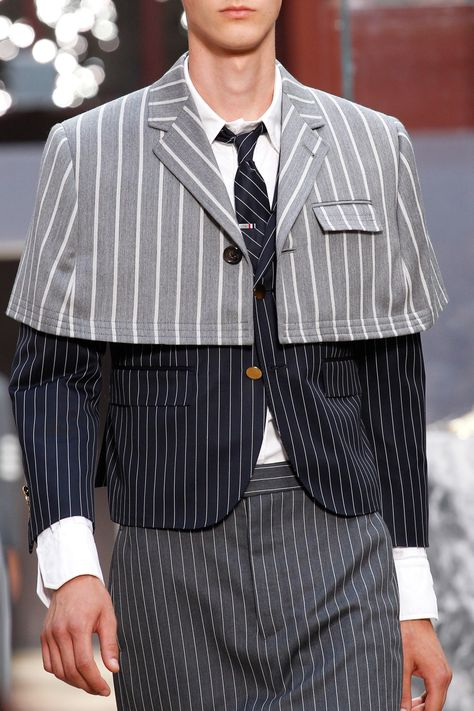 Thom Browne Spring 2018 Menswear Fashion Show Details