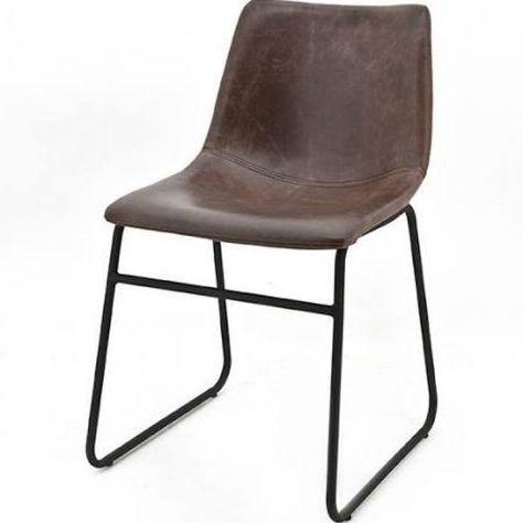 Buisstoel leer best bas van pelt buisstoel with buisstoel for Bauhaus stoel leer