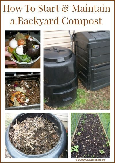 How To Start Maintain A Backyard Compost Composting At Home