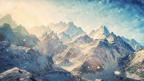 Snow Mountain Wallpapers Wallpaper Cave Zhivopisnye Pejzazhi