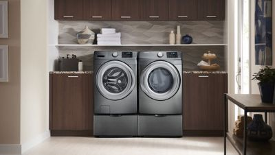 Best Washer And Dryer Features To Look For In 2020 Laundry Room Layouts Washer And Dryer Smart Washer And Dryer