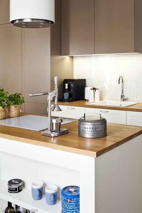 Galeria Zdjec 20 Inspiracji Na Bezowe Jasne Kuchnie Zdjecie Nr 3 Urzadzamy Pl Home Decor Kitchen Decor