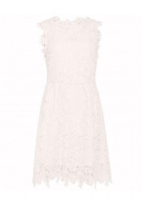 White Frill Sleeve Binding Detail Skater Dress Skater Dresses Uk Dresses White Skater Dresses