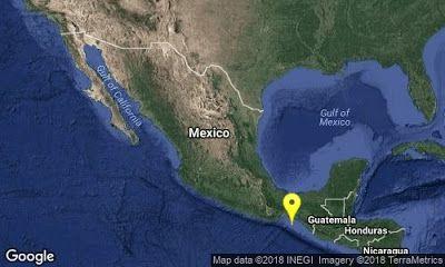 La Tierra Sigue Moviendose Ahora Fue En Chiapas Terremoto En Mexico Salina Cruz Oaxaca Temblor En Mexico