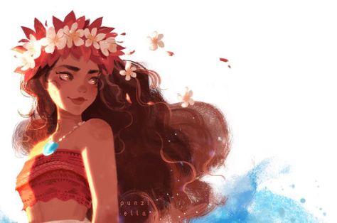 Moana was so wonderful 😭🌀✨💙