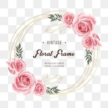 Watercolor Flowers Png Images Vector And Psd Files Free Download On Pngtree In 2021 Watercolor Flowers Floral Background Flower Drawing