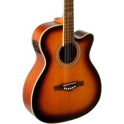 Eko Tri Series Auditorium Cutaway Acoustic Electric Guitar Acoustic Electric Guitar Acoustic Electric Electric Guitar For Sale