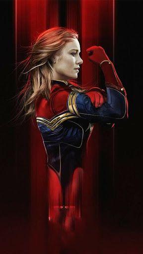 Captain Marvel Live Wallpaper Pour Telephone Cellulaire Fond D Ecran De Cellulaire Anime Inspirations D Captain Marvel Marvel Merchandise Marvel Superheroes