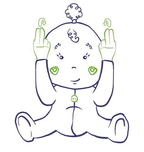 LAPIN lfs langue des signe bébé