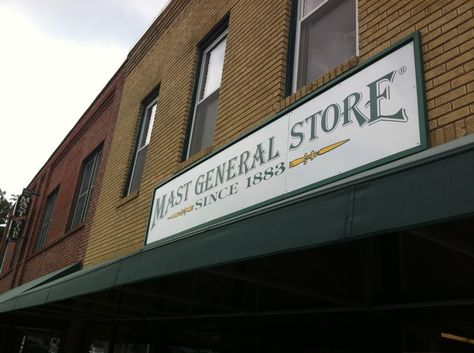Mast General Store's Old Boone Mercantile has mountains of gear and apparel for outdoor forays | Downtown Boone, NC