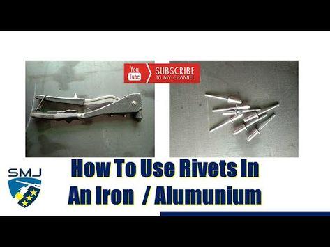 Cara Cepat Menggunakan Ripet Di Plat Besi Alumunium How To Use