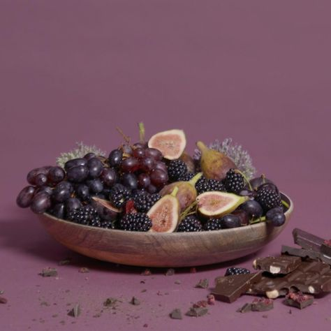 Cassis speaks to that of rich, opulent decadence