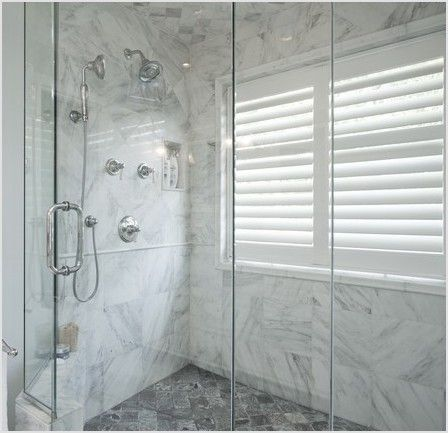 Solution To The Large Window In The Shower Simple Diy Cover Window Showers And Bathroom Window In Shower Bathroom Redesign Shower Remodel
