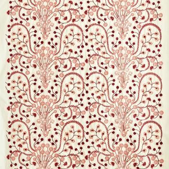Fabric Wallpaper Clarence House Fabric Wallpaper Flower Embroidery Designs Embroidery Flowers Clarence house wallpaper samples