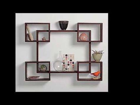 Hermosos Disenos De Estantes O Repisas Flotantes Con Estilo Para Sala Comedor Bano Y Habitaciones Youtube Floating Shelves Shelves Wall Shelves