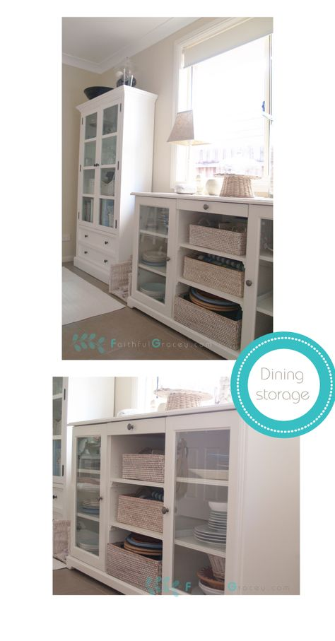 Ikea Hemnes cabinet and liatorp sideboard for dining room storage - gebrauchte küchen koblenz