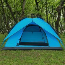 Outdoor Sports Cheap Price Pop Up One Touch Open Waterproof Family Camping Tent