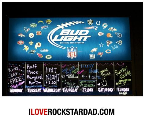 Check out the nightly specials at Pawley's Front Porch. Best burgers in Columbia. www.iloverockstardad.com