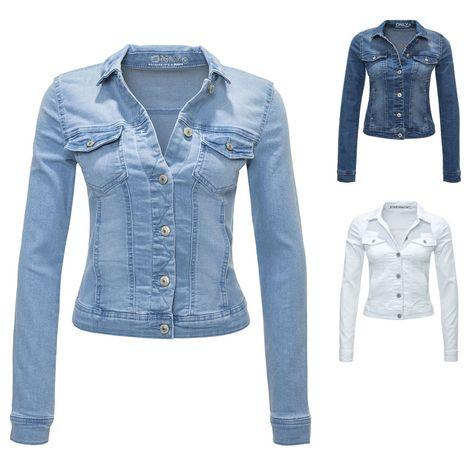 2019 authentisch überlegene Leistung abwechslungsreiche neueste Designs Only Damen Jeansjacke Damenjacke Denim Jacket 34/36/38/40/42 ...