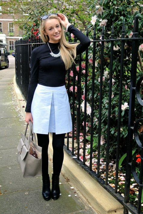 Fashion Mumblr: OOTD: Pastel Leather