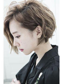 大人かわいい前下がりボブ 新宿 Miel Hair 新宿 Est 3号店