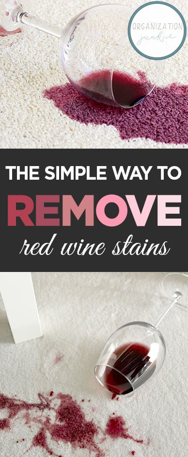 How To Remove Red Wine Stains For Your Carpet Red Wine Stain