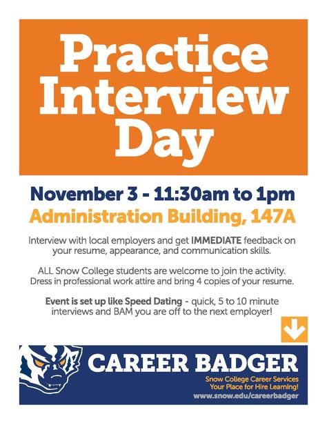 Pin by Snow College Career Badger on Job Events @ Snow Pinterest - 10 minute resume