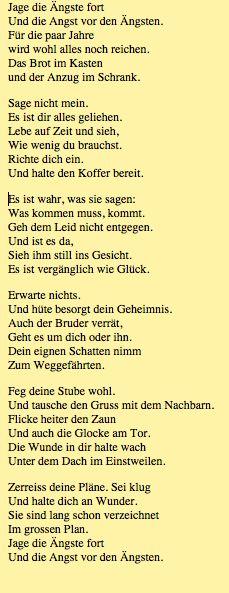 Goethe gedicht die glocke