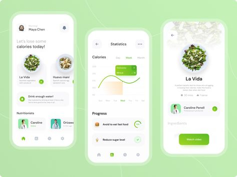 Healthfud - Diet Food Recipe Apps