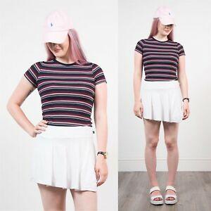 90 S Womens White Vintage Nike Pleated Tennis Skirt Wrap Nike Tennis Skirt Wrap Vintage Skort In 2020 Tennis Skirt Outfit Pleated Tennis Skirt Indie Outfits