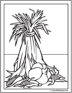 68 Thanksgiving Coloring Pages Autumn Harvest Fun
