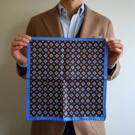 6 pieces Mens Suit Pocket Square Dots Handkerchief Square Mixed Assorted Pattern for Wedding Party