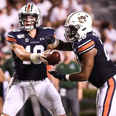 Auburn 24 Tulane 6 Image 24 Will Hastings 33 Football Vs