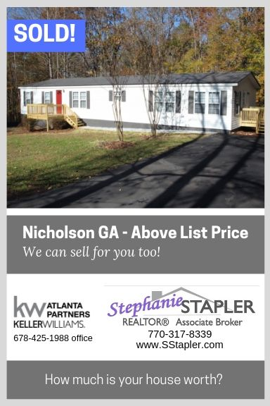 Sold In Nicholson Ga Above List Price We Can Sell For You Too