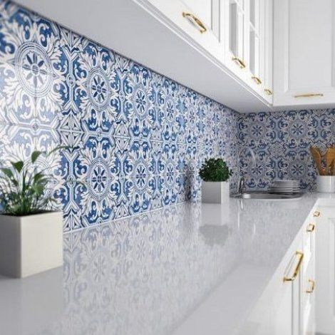 Kitchen Backsplash Wallpaper Indian