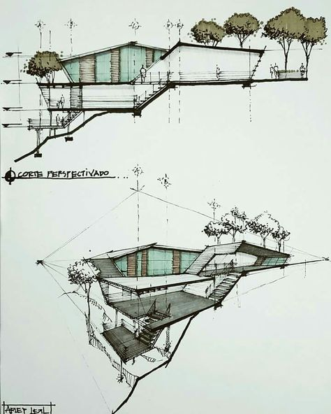 Model architecture drawing skill
