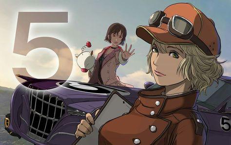 New Final Fantasy XV Artwork Features Cindy, Iris Umbra