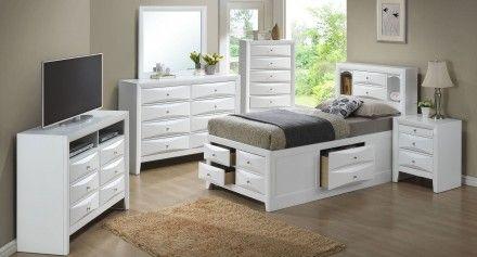 G1570g Youth Bookcase Storage Bedroom Set Furniture Adjustable