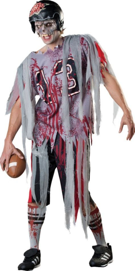 Adult Football Zombie Costume , Party City